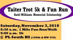 Kaiti Williams Memorial Taiter Trot 5K & Fun Run